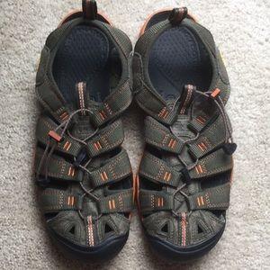 Men's keen hiking sandal